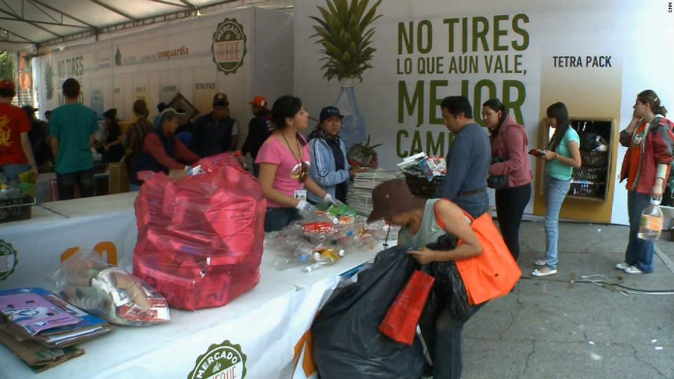 Mexico recycle program center
