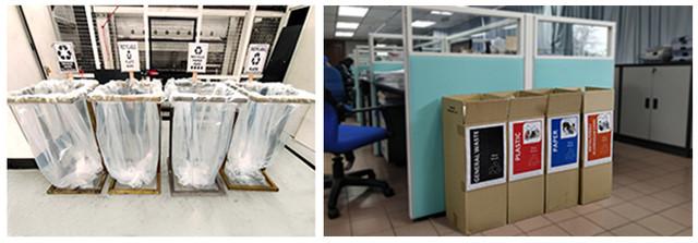 Thong Guan internal office recycle program