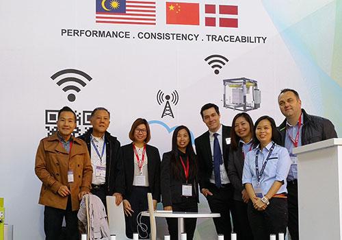 Thong Guan group photo at Interpack, Messe Düsseldorf Germany