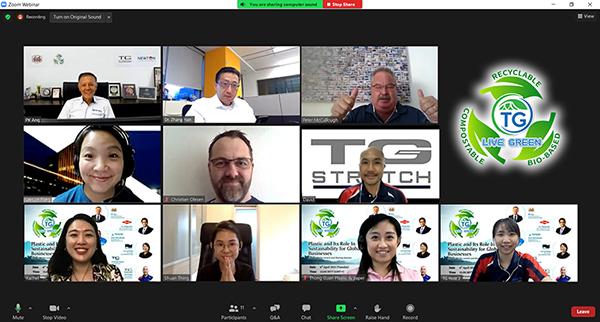 Thong Guan #LiveGreen: People behind the scenes, speakers, hosts, crews